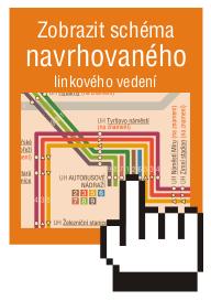 Zobrazit schéma navrhovaného linkového vedení