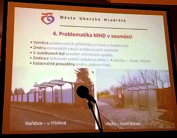 Prezentace města: změny v MHD v roce 2013